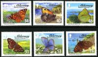 Alderney stamp sets