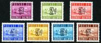 Guernsey Post Dues unmounted stamps