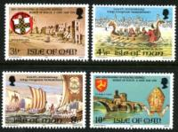 IOM stamp sets 1958-1980