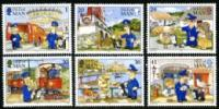 IOM stamp sets 1991-1995