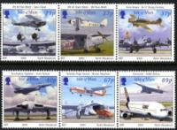 IOM stamp sets 2001-2005