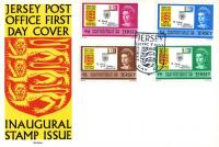 Jersey Unaddressed Covers 1958 - 1984