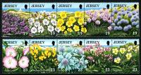 Jersey stamps 1990 - 1995