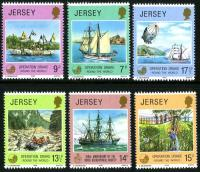 Jersey stamps 1958 - 1980