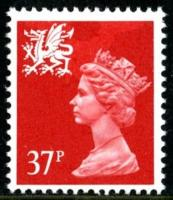Wales stamps