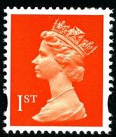 SG 1667 1st orange 2 band (W)