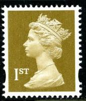 SG 1668 1st gold 2 band (Q)