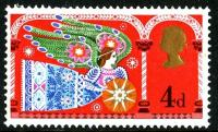 1969 4d Christmas with 3.5mm centre band