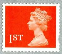 SG 1977 1st orange 2 band (E)