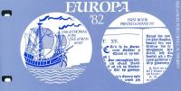 1982 Europa Historic Events pack