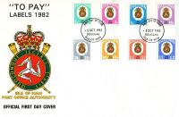 1982 Postage Due first day cover