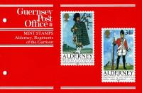 1985 Alderney Regiments pack