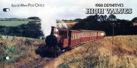 1988 Manx Railways high values pack