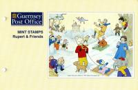 1993 Rupert Bear miniature sheet pack