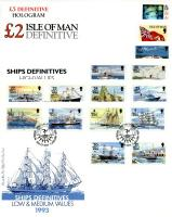 1993 Ships definitives 6 covers