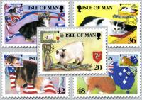 1996 Manx Cats Cards