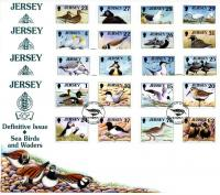 1997 Bird Definitives 4 covers