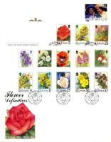 1998 Flower definitives 4 covers