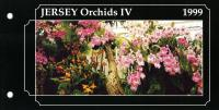 1999 Jersey Orchids miniature sheet pack