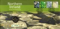 2001 Northern Ireland coin cover with £1 coin - cat value £10