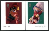 2001 Punch & Judy self adhesive
