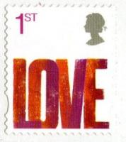 2007 Love self adhesive