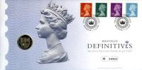 2009 High Value Definitives coin cover with £1 coin - cat value £24