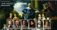 2011 House of Hanover + miniature sheet pack