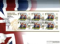 2012 Gold Winners Set of 29 miniature sheets