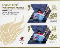 2012 Paralympic Games Helena Lucas Keelboat Sailing MS