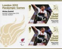 2012 Paralympic Games Mickey Bushell 100m Track MS