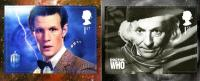 2013 Doctor Who 2 values self adhesive