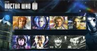 2013 Doctor Who includes 11 stamps and miniature sheet