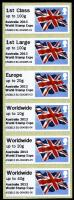 2013 Post & Go Australia Flags - this was issued as stamps only without a presentation pack