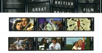 2014 British Films pack includes miniature sheet as well