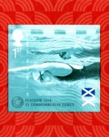 2014 Commonwealth Games self adhesive SG: 3625