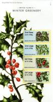 2014 Post & Go Winter Greenery pack
