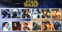 2015 Star Wars pack includes miniature sheet as well