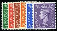 Set of 6 stamps SG485 to 490