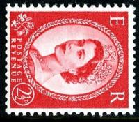 SG 574d 2½d type1 sideways