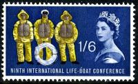 1963 Lifeboat 1s 6d phos
