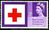 1963 Red Cross 3d phos
