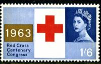 1963 Red Cross 1s 6d phos