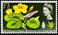 1964 Botanical 1s 3d phos