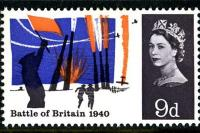 1965 Battle of Britain 9d phos