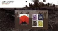 2007 Lest We Forget MS pack