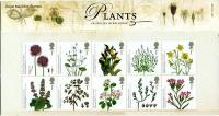 2009 Endangered Plants includes miniature sheet pack