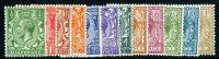 SG418 - 429  1924 George V set of 12