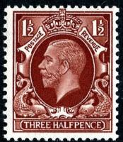 SG441 1½d red-brown