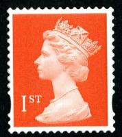 SG 1671  1st orange 2 band  (q)